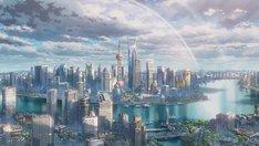 「上海恋」で描かれる上海の風景。