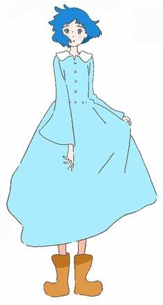 劇中の童話「リズと青い鳥」に登場する少女。