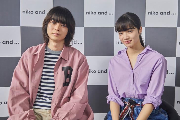 左から菅田将暉、小松菜奈。