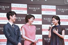「パンダになりたかった」と明かす芳根京子(右)。