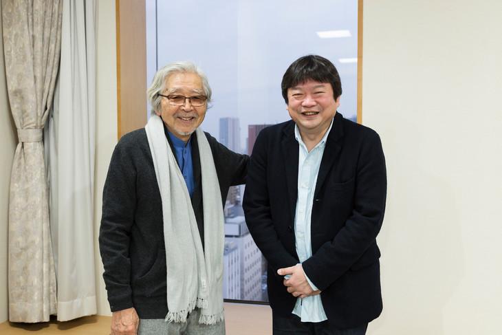 左から山田洋次、本広克行。