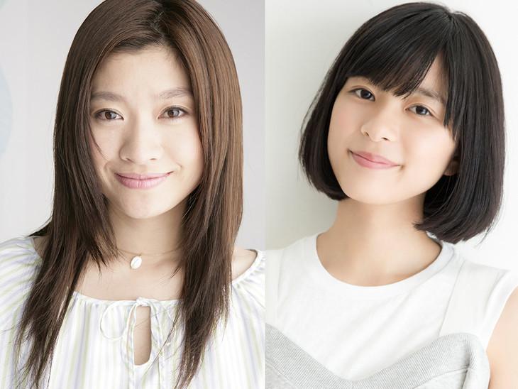 左から篠原涼子、芳根京子。