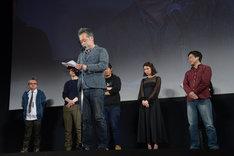 ゆうばり国際ファンタスティック映画祭2018クロージングセレモニーの様子。