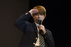 じゃんけん大会での吉沢亮。