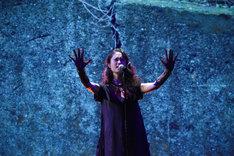 主題歌「walls」を歌唱するAlisa。