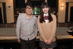 左から亀田誠治、鈴木瑛美子。