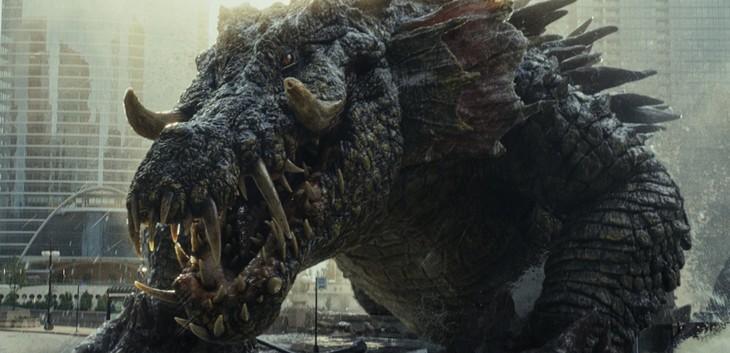 「ランペイジ 巨獣大乱闘」より巨大ワニ・リジー。