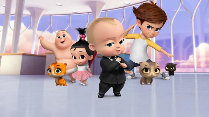 Netflixオリジナルアニメーション「ボス・ベイビー:ビジネスは赤ちゃんにおまかせ!」(4月6日より独占配信開始)