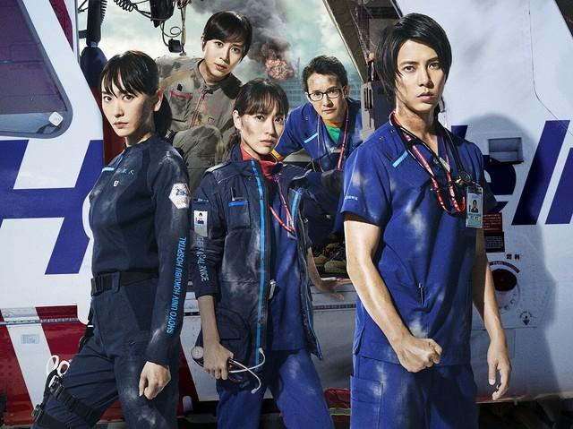 「劇場版コード・ブルー -ドクターヘリ緊急救命-」ビジュアル