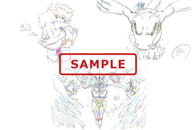来場者特典となる原画のポストカードA。
