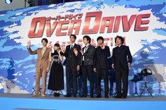 「OVER DRIVE」スペシャルステージイベントの様子。