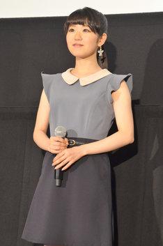 傘木希美役の東山奈央。