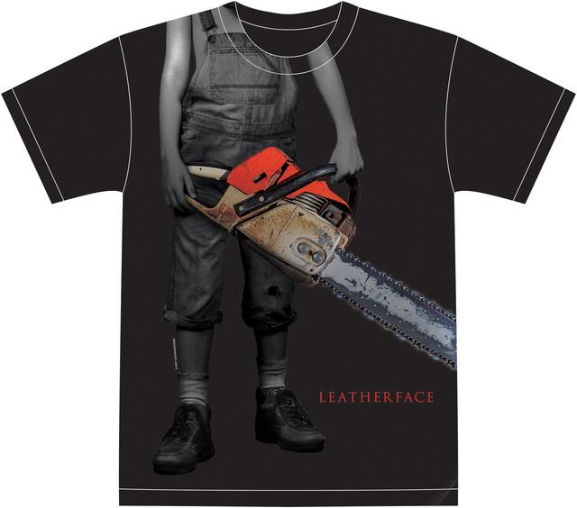 「レザーフェイス-悪魔のいけにえ」リピーターキャンペーンで当たるオリジナルTシャツ。