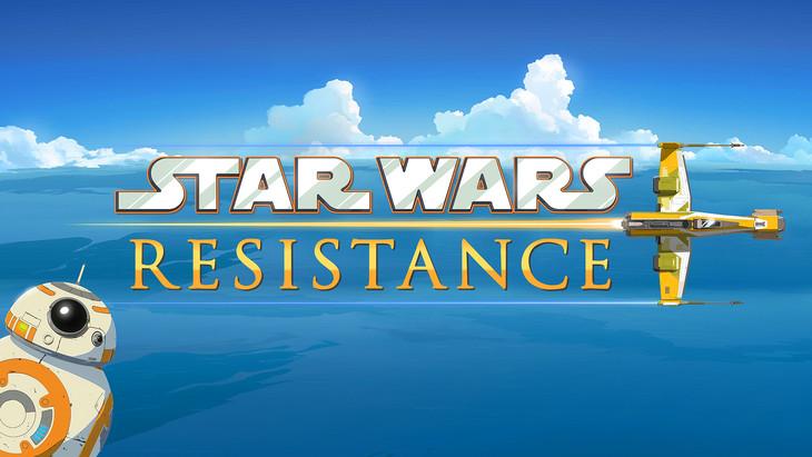「Star Wars Resistance(原題)」ビジュアル (c)Lucasfilm