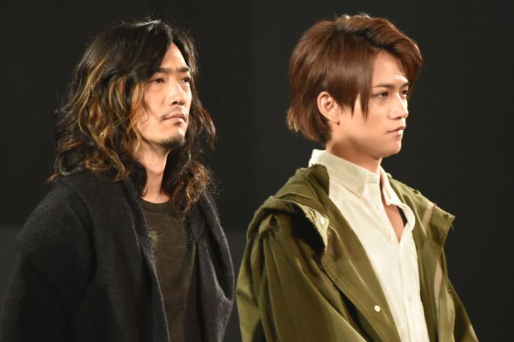 左から谷口賢志、藤田富。