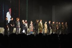 「『仮面ライダーアマゾンズ THE MOVIE 最後ノ審判』スペシャルイベント A to Z AMAZONZ」の様子。