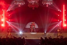 「『仮面ライダービルド』スペシャルイベント ファウストナイト」の様子。