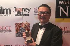 ニース国際映画祭2018に出席した監督の和田秀樹。