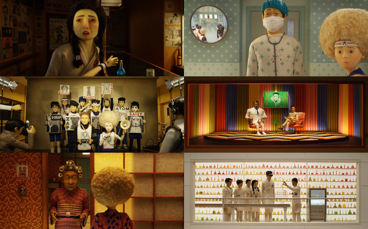 「犬ヶ島」より日本人ボイスキャストが演じたキャラクターのビジュアル。
