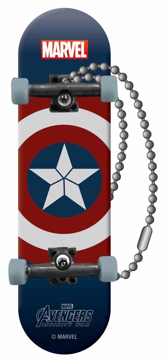 フィンガースケートボード賞「キャプテン・アメリカ」