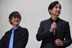 左から藤田富、神尾佑。