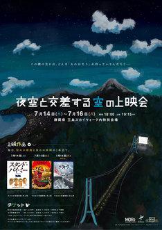 「夜空と交差する空の上映会」ポスタービジュアル