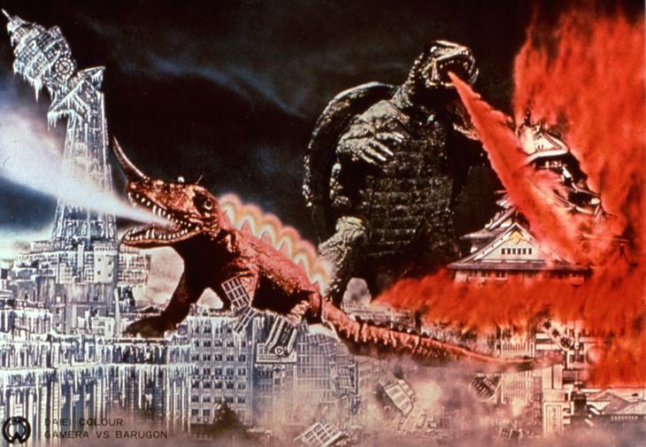 「大怪獣決闘・ガメラ対バルゴン」 (c)KADOKAWA1966
