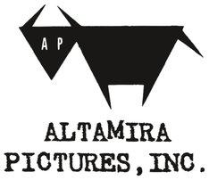 企画・製作プロダクション、アルタミラピクチャーズのロゴ。
