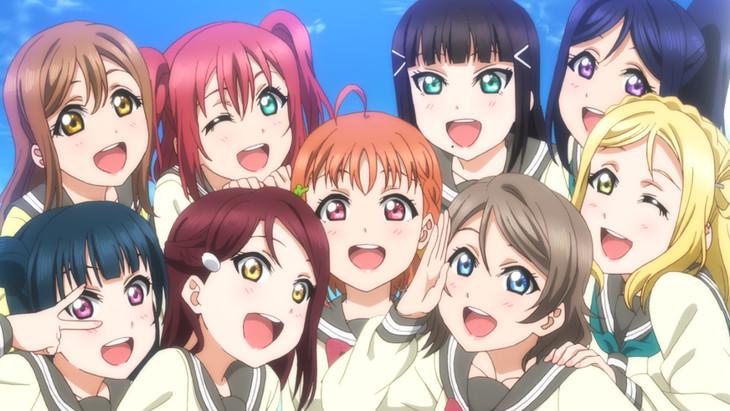 「ラブライブ!サンシャイン!! The School Idol Movie Over the Rainbow」告知用ビジュアル