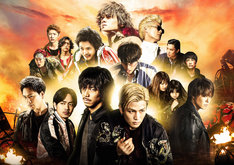 「HiGH&LOW THE MOVIE 3 / FINAL MISSION」ビジュアル