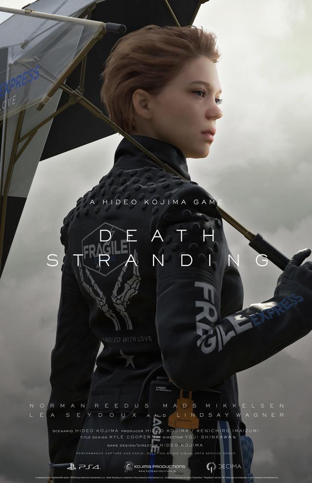 「DEATH STRANDING」ビジュアル