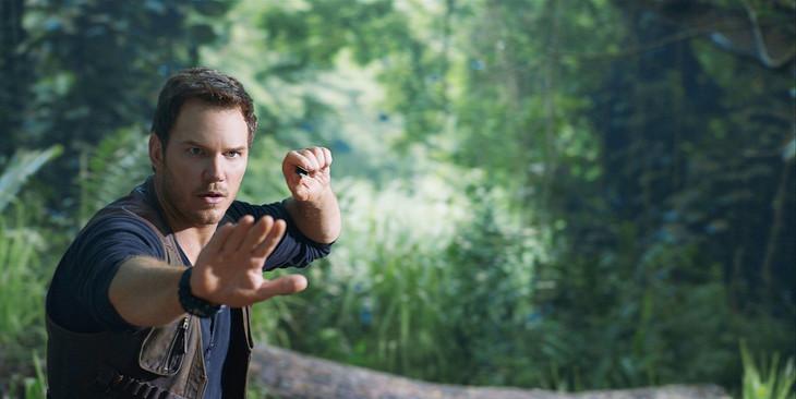 クリス・プラット演じるオーウェン。
