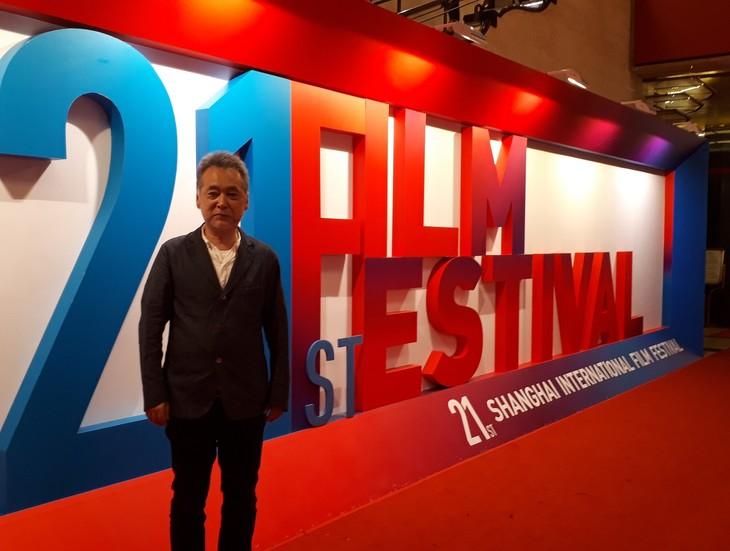 第21回上海国際映画祭に参加した瀬々敬久。