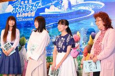 「劇場版ポケットモンスター みんなの物語」公開アフレコイベントの様子。