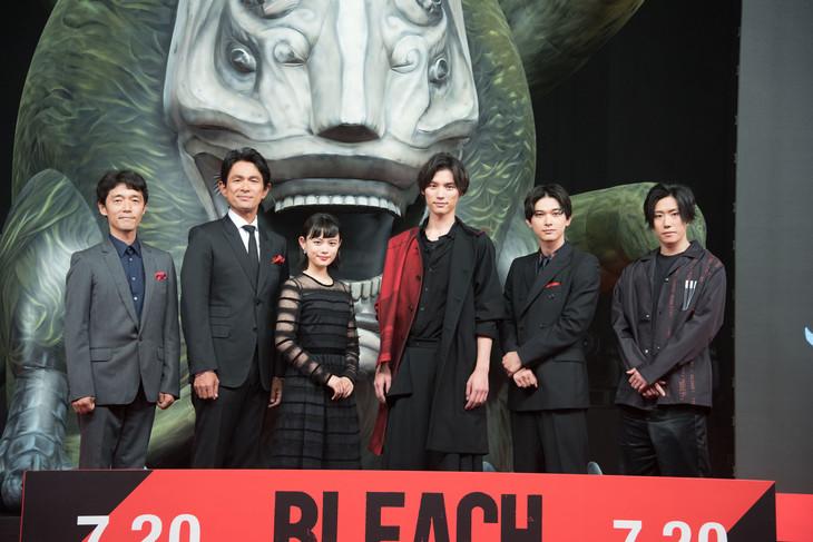 「BLEACH」ジャパンプレミアの様子。