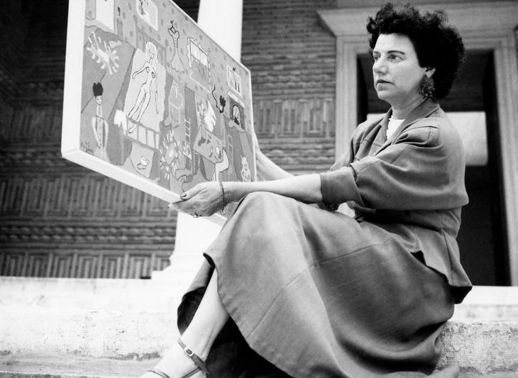 ペギー・グッゲンハイム (c)Courtesy of the Peggy Gugggenheim Collection Archives, Venice