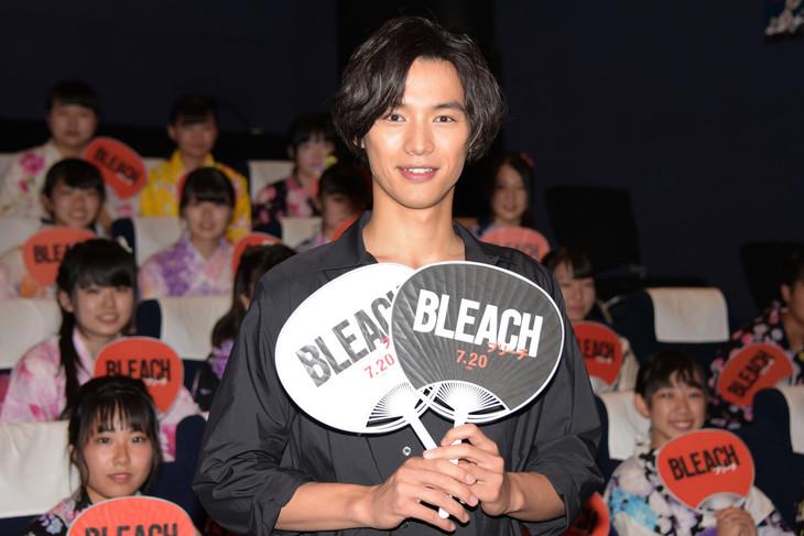 「BLEACH」公開直前イベントに登壇した福士蒼汰。
