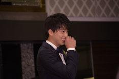 橋田壽賀子から「素敵な坊や!」と言われ笑顔の竹内涼真。