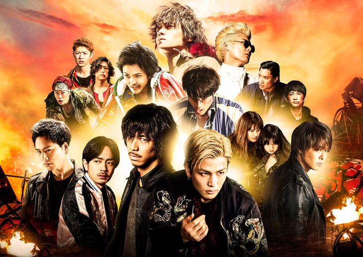 「HiGH&LOW THE MOVIE 3 / FINAL MISSION」ビジュアル (c)2017「HiGH&LOW」製作委員会