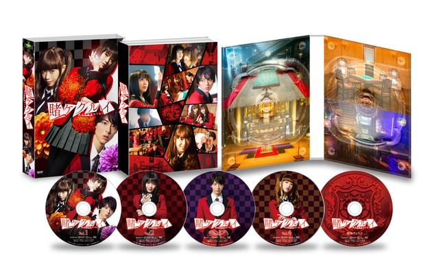 「賭ケグルイ」DVD BOXの展開図。