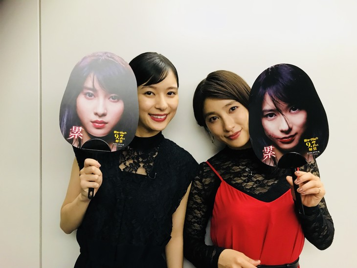 左から芳根京子、土屋太鳳。