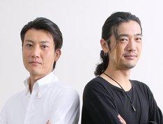 左から俊藤光利、谷口賢志。