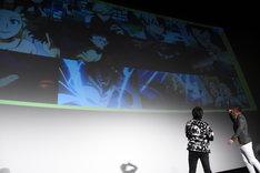 「僕のヒーローアカデミア THE MOVIE ~2人の英雄~」イベントの様子。