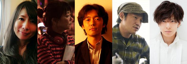 PFFアワード2018最終審査員。左から佐藤公美、大九明子、佐藤信介、冨永昌敬、生田斗真。