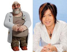 ライス博士を演じる森久保祥太郎。