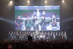 「PKCZ×DTC-湯けむり純情篇-from HiGH&LOW 完成披露試写会&PREMIUM LIVE SHOW」の様子。