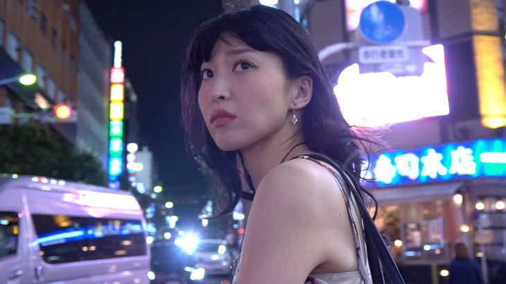 「今夜新宿で、彼女は、」