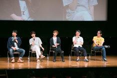 「力俥-RIKISHA- 浅草立志編」「力俥-RIKISHA- すみだ旅立ち編」完成披露上映イベントの様子。