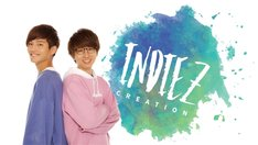 INDIEZビジュアル。左から森永直人、木村真人。