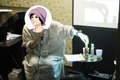 イベントでは町田粥特製のハーバリウムを始めとするアイテムが来場者にプレゼントされた。